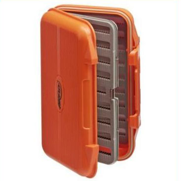 Airflo Large Aquatec Fly Box With Swing Leaf - Orange