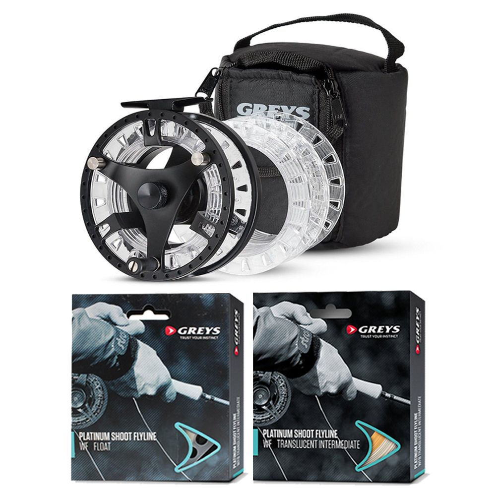 Greys GTS500 Loaded Reel & Line Combo
