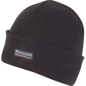 Thinsulate bob hat - Black